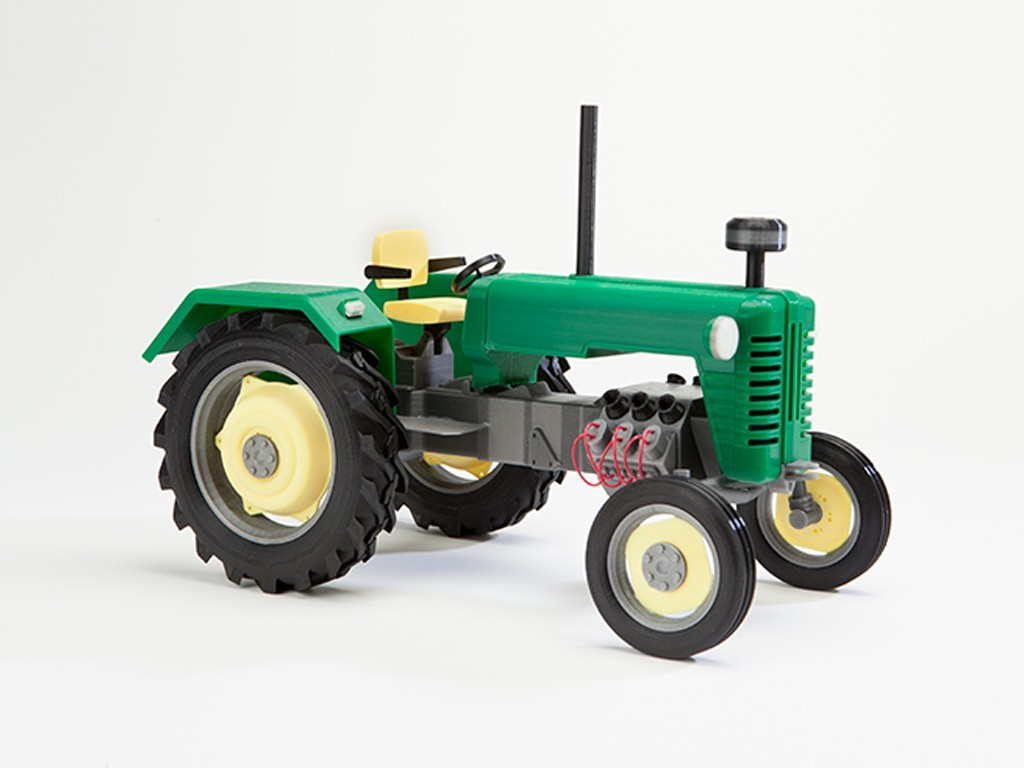 tractor_display_large.jpg Download free STL file Tractor • 3D print object, wally3Dprinter
