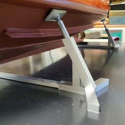 20200130_164611.jpg Télécharger fichier STL bequille pour maquette bateau  • Modèle pour imprimante 3D, jeremydefm