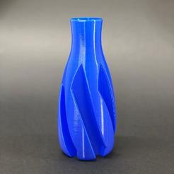 "Download 3D printing templates SIMPLE VASE, print in ""vase mode"" or as solid!, didilic"