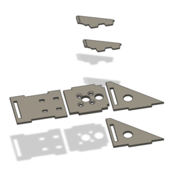 Download free 3D printing templates MOTOR MOUNT FOR FT EXPLORER, FOR A2212 MOTOR, didilic