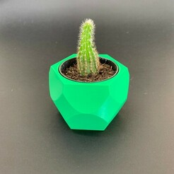 vaso1.jpg Download STL file Cachepô para Vasos de suculentas! Hexagonal! • 3D print model, didilic
