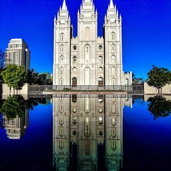 Modelos 3D para imprimir Temple Square, Salt Lake City, Nstalej