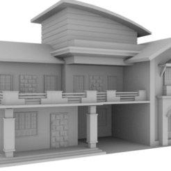 Descargar archivo 3D Modelo de Casa, bpattanaik20