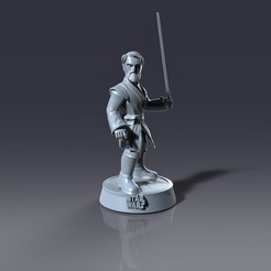 untitled.1071.jpg Download STL file Obi Star wars • 3D printer model, lilia3dprint