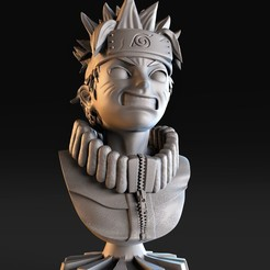 1.jpg Download STL file bust naruto • 3D printable model, lilia3dprint