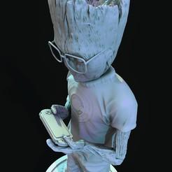 Télécharger fichier imprimante 3D TUTEURS GROOT TEEN 006, lilia3dprint