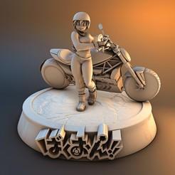 1.jpg Descargar archivo STL motorcyclist base 015 • Objeto para impresora 3D, lilia3dprint