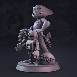 rose vs.1301.jpg Download STL file Ratchet & Clank • 3D printer design, lilia3dprint