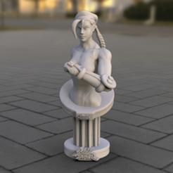 Download 3D printer files Pedestal Street fighter 024, lilia3dprint