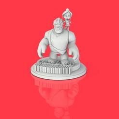 Télécharger fichier imprimante 3D gratuit Ralph2, lilia3dprint