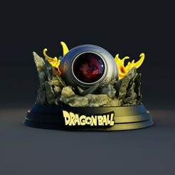 3.jpg Télécharger fichier STL arrivée Dragon ball • Plan à imprimer en 3D, lilia3dprint