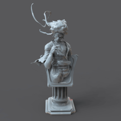 Download free 3D model Pedestal121, lilia3dprint