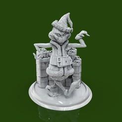 Download free 3D printer designs BaseGrh01, lilia3dprint