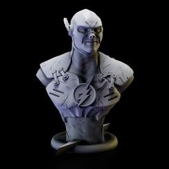 Imprimir en 3D Flash Bust , lilia3dprint