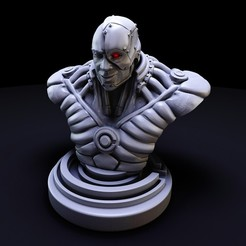 1.jpg Download STL file cyborg dc bust • 3D print object, lilia3dprint