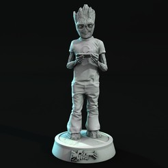 Descargar diseños 3D GUARDIANS GROOT TEEN 006, lilia3dprint