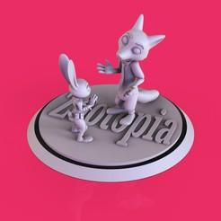 Descargar modelo 3D gratis Zootopi 2, lilia3dprint