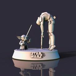 3 copia.jpg Descargar archivo STL Star Wars Yoda 021 • Diseño para imprimir en 3D, lilia3dprint