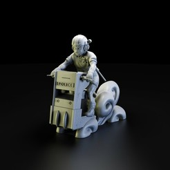 krilin race.1161.jpg Download STL file Krilin Police Race • Model to 3D print, lilia3dprint