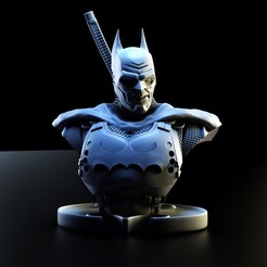 untitled.1170.jpg Download STL file Batman Bust 12 • 3D printing template, lilia3dprint