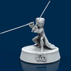 1.jpg Descargar archivo STL Aayla Star Wars  • Objeto para imprimir en 3D, lilia3dprint