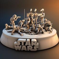 1.jpg Télécharger fichier STL L'embuscade de Star Wars 21 • Objet à imprimer en 3D, lilia3dprint