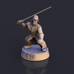 1.jpg Descargar archivo STL Ddarth Vader Star Wars • Modelo para la impresión en 3D, lilia3dprint