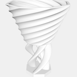Download free 3D printing models Twisty Cup, nh8681