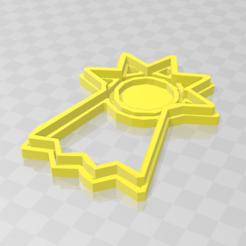 esperanza 2.PNG Télécharger fichier STL Cookie emblème de Digimon - Espoir • Design imprimable en 3D, PrintCraft