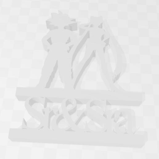 Descargar diseños 3D Sr & Sra Weeding Middle Cake , PrintCraft