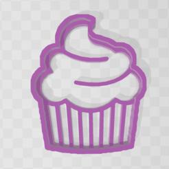 Descargar archivos 3D cupcake cookie cutter, PrintCraft