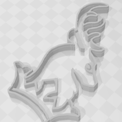 Download STL Baratheon - GOT - Cookie Cutter, PrintCraft