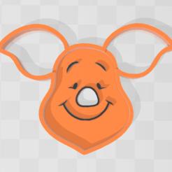 Piglet.PNG Télécharger fichier STL Biscuit pour porcelet - Winnie l'ourson • Design à imprimer en 3D, PrintCraft