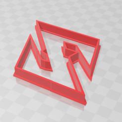 Download STL file Dragon ball Z Logo cookie • 3D printing design, PrintCraft