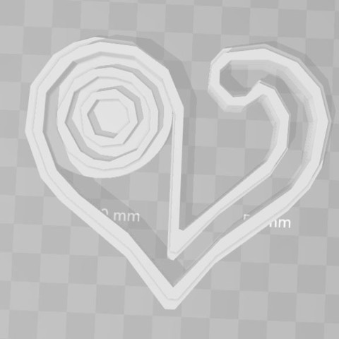 STL files love digimon emblem cookie cutter, PrintCraft