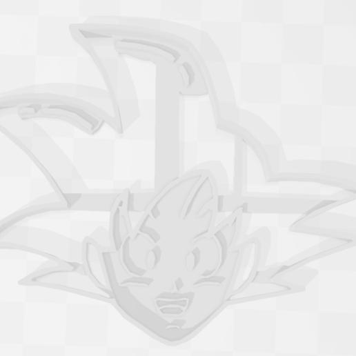Télécharger fichier STL Goku - Kakaroto - Dragon Ball - Cookie Cutter, PrintCraft