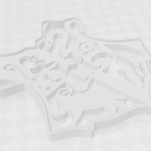Download 3D printer files Hogwarts - Harry Potter - Cookie Cutter, PrintCraft