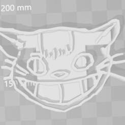 Download 3D printer designs Catbus toto cookie cutter, PrintCraft