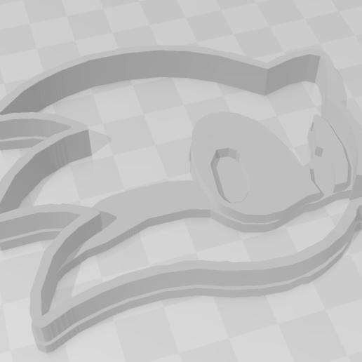 Descargar diseños 3D Sonic The hedghog - Cookie Cutter, PrintCraft