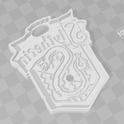 Download 3D print files Slythering Harry Potter cookie cutter, PrintCraft