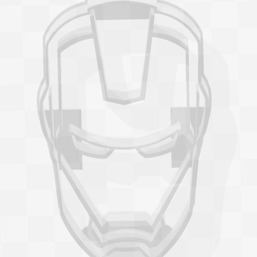 Télécharger fichier 3D Ironman - Marvel - Coupe-biscuits - Cookie Cutter, PrintCraft