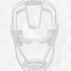 Download 3D printing models Ironman - Marvel - Cookie Cutter, PrintCraft