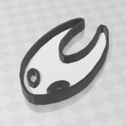 hornet 2.PNG Download STL file Hornet cookie - Hollow Knight • 3D printable template, PrintCraft