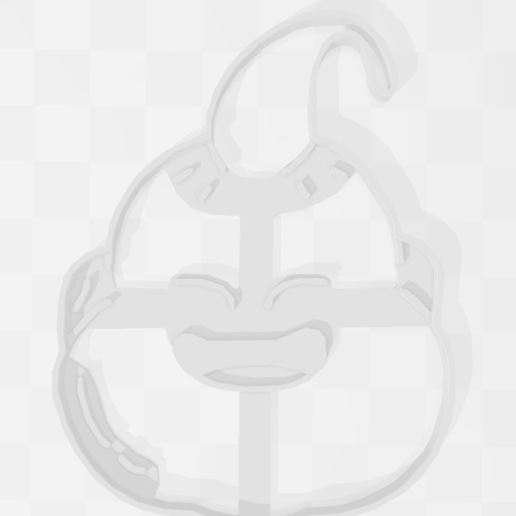 Descargar diseños 3D Magin Buu - Dragon Ball - Cookie Cutter, PrintCraft