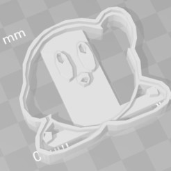 STL kirby cookie cutter, PrintCraft