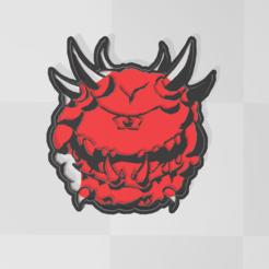 cacodemon.PNG Télécharger fichier STL Cacodémon - Le destin • Design pour imprimante 3D, PrintCraft