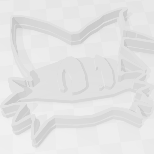 Descargar STL Tails - Sega.- Sonic The Hedgehog - Cookie Cutter, PrintCraft