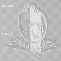 STL file bird person cookie cutter, PrintCraft