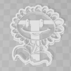 Télécharger fichier imprimante 3D Plantes de tournesol contre emporte-pièce zombie, PrintCraft