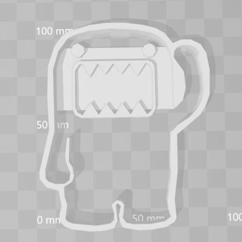 3D printer files dome kun cookie cutter, PrintCraft